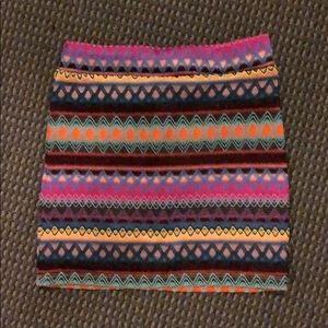 Nasty Gal Minkpink Printed Bodycon Skirt